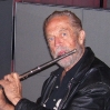Flutist Sheridon Stokes; HANGMAN'S HOUSE sessions.
